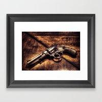 Revolver HDR Framed Art Print