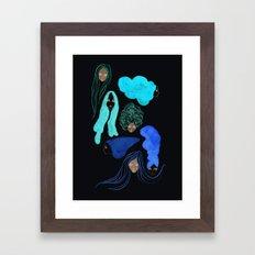 Hair 3 of 3 Framed Art Print