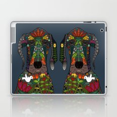 Great Dane love midnight Laptop & iPad Skin