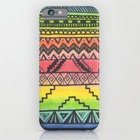 iPhone & iPod Case featuring Tribal #3 by haleyivers