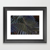 Trippin' Into the Fall Framed Art Print