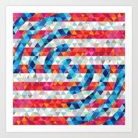 Abstract America Art Print