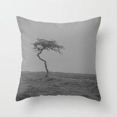 alone... Throw Pillow