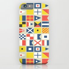 Geometric Nautical flag and pennant Slim Case iPhone 6s