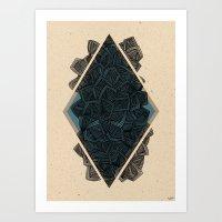 - artefact - Art Print
