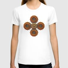 Heirloom Womens Fitted Tee White SMALL