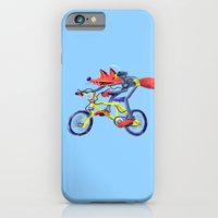iPhone & iPod Case featuring fox bike by petipoa