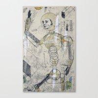 No. 3 Canvas Print