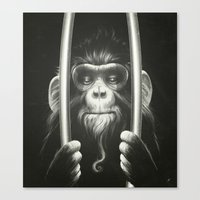 Prisoner II Canvas Print
