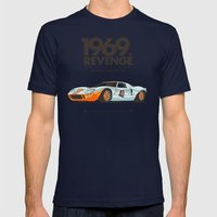 1969 Mens Fitted Tee Navy SMALL