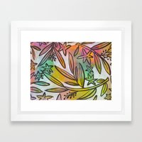Painted Jungle Framed Art Print