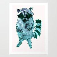 I Eat Cat Chow Art Print
