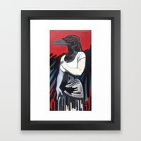 The Morrigan Framed Art Print