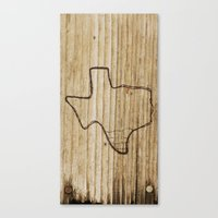 Canvas Print featuring Texas by Travis Weerts