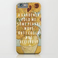 Hunting For Sunflowers iPhone 6 Slim Case