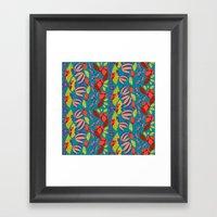 African Waterfall 3 Framed Art Print