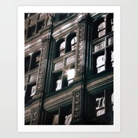 Flare Revisited Art Print