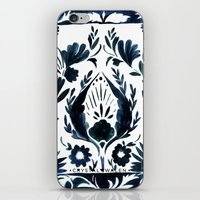 Nadia Flower iPhone & iPod Skin