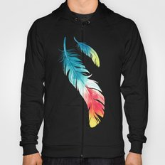 Feather Hoody