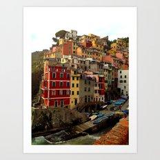 Riomaggiore, Cinque Terr… Art Print