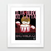 The tin drum Framed Art Print
