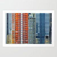 Density - New York City … Art Print