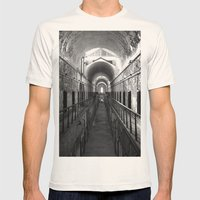Eastern State Penitentiary  Mens Fitted Tee Natural SMALL