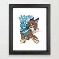 Fox'n'Rabbit Framed Art Print