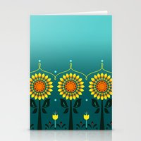 Sunflower Fever Stationery Cards