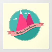 The Royal Mountaineers Canvas Print