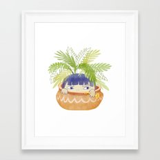 Hidden Plant Framed Art Print
