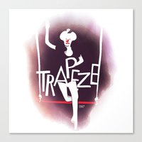 Circus - Trapeze Canvas Print