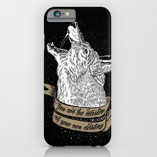 Wolf Protector (Black n Bronze collection) iPhone & iPod Case