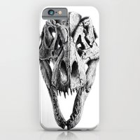 T-Rex Skull iPhone 6 Slim Case
