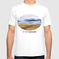 13,000 Feet Mens Fitted Tee White SMALL