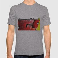 Fire in a Bucket-Colour edition Mens Fitted Tee Athletic Grey SMALL