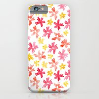 iPhone & iPod Case featuring Sunny Florals by Jen Moules