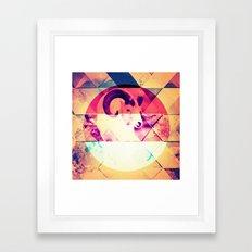 |OBSERVING BEAUTY| Framed Art Print