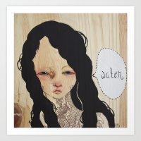 Trifecta - Water Art Print