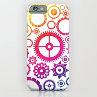 iPhone & iPod Case featuring Color Cogs. by Digi Treats 2