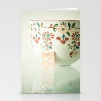 tea Stationery Cards featuring Tea by Olivia Joy StClaire
