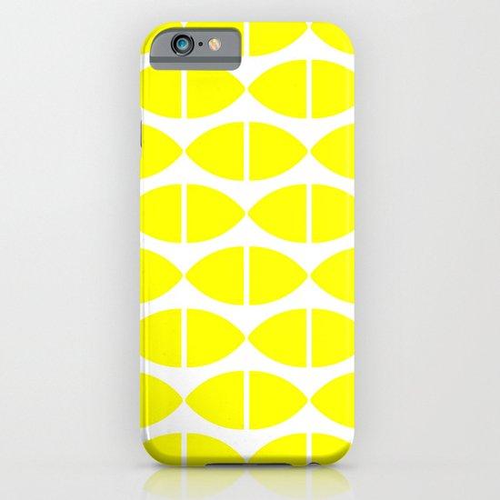 Lemons Pattern iPhone & iPod Case
