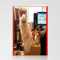 LES CATASTROPHES XMAS ED… Stationery Cards