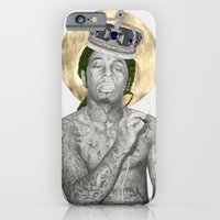 iPhone & iPod Case featuring All Hail Wayne by Angie Crabtree