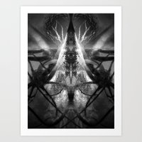 Between The End And Eden Art Print