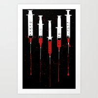 Needles Art Print
