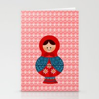 Matrioskas (Russian Doll… Stationery Cards