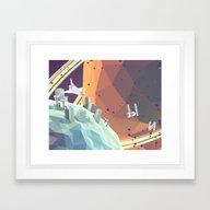 Space V.2 Framed Art Print