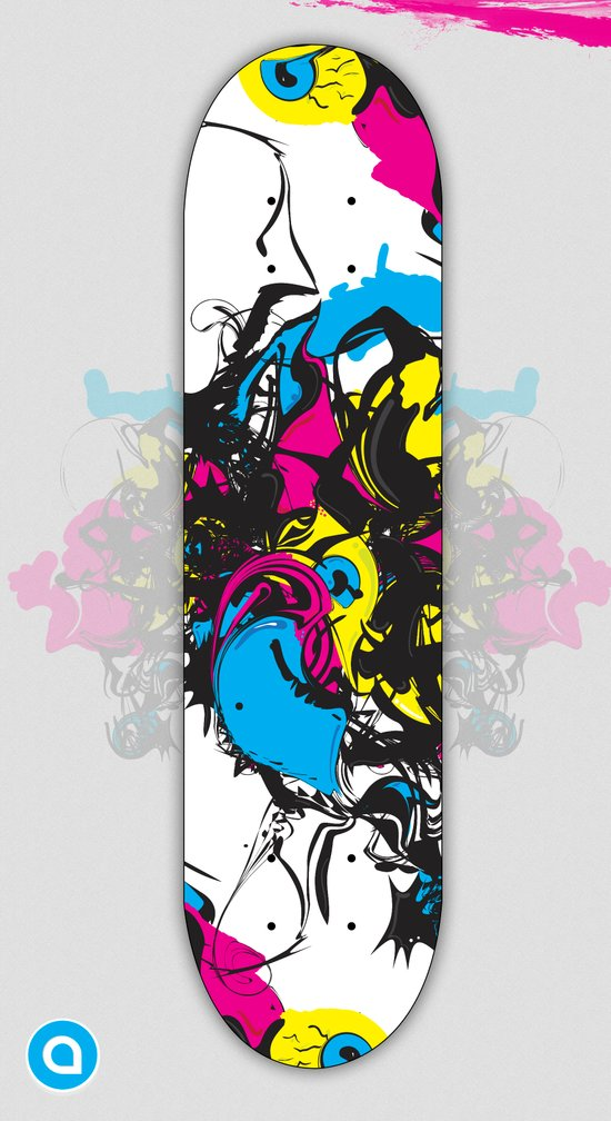 Sk8 deck Wall Art Art Print