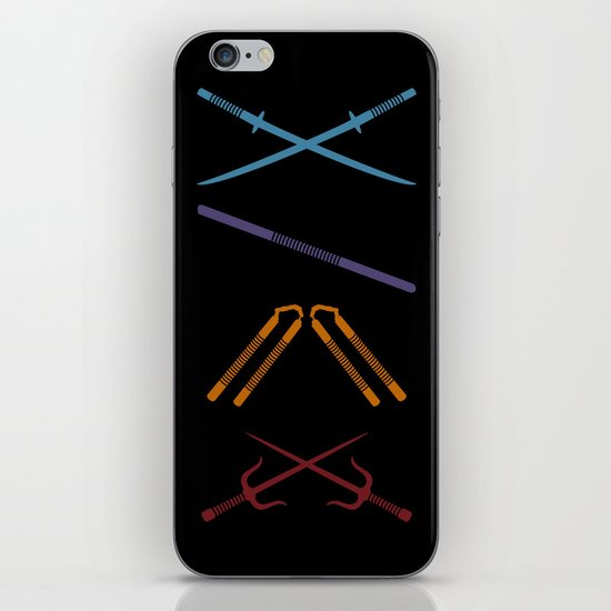 TMNT iPhone & iPod Skin